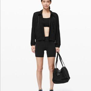 Get Going Lululemon Jacket in Black